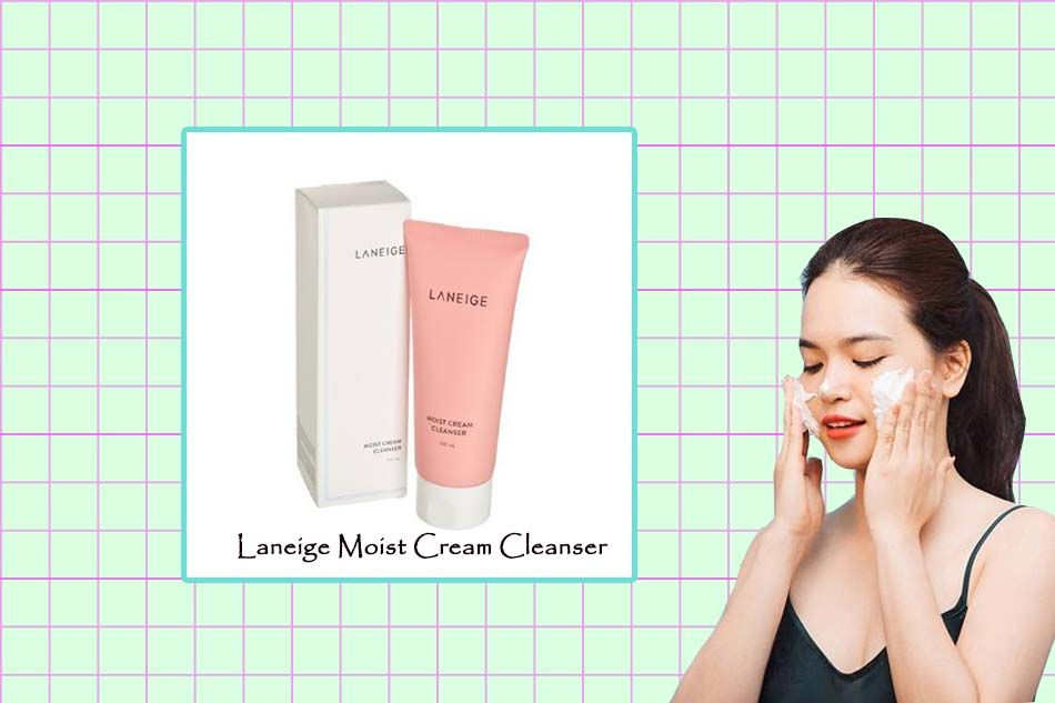 Sữa rửa mặt Moist Cream Cleanser