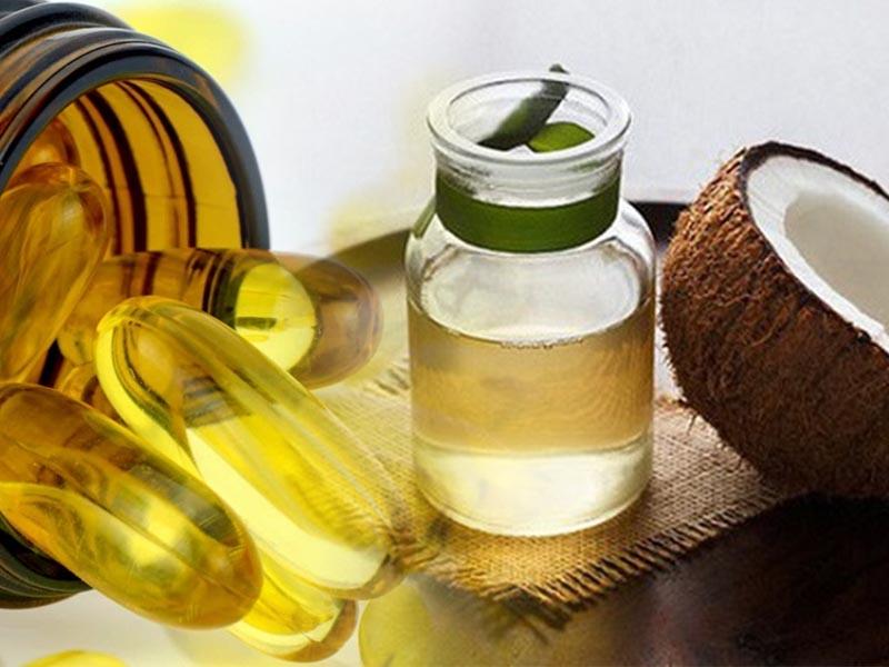 Cách làm trắng da bằng dầu dừa và Vitamin E