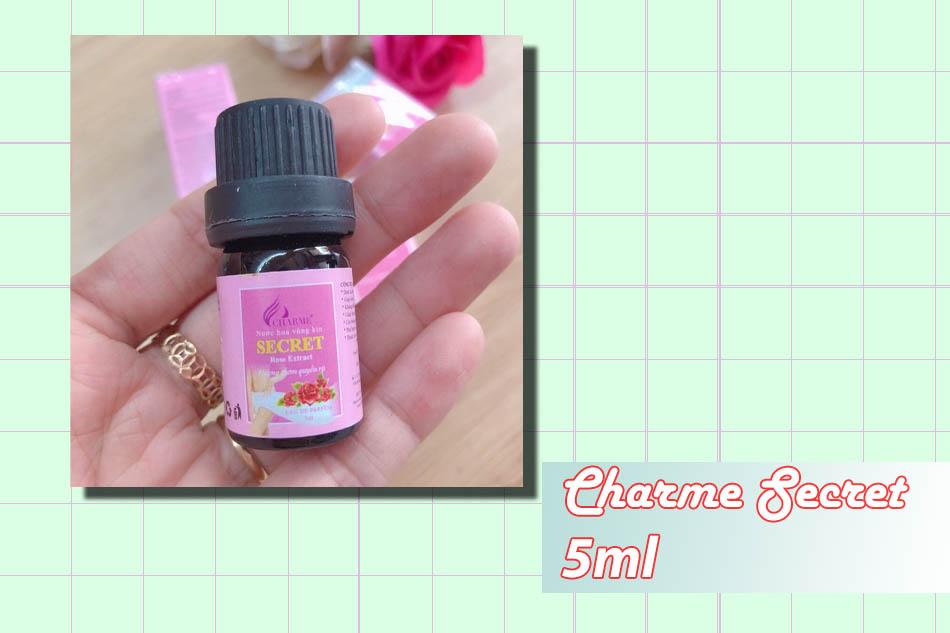 Nước hoa vùng kín Charme Secret lọ 5ml