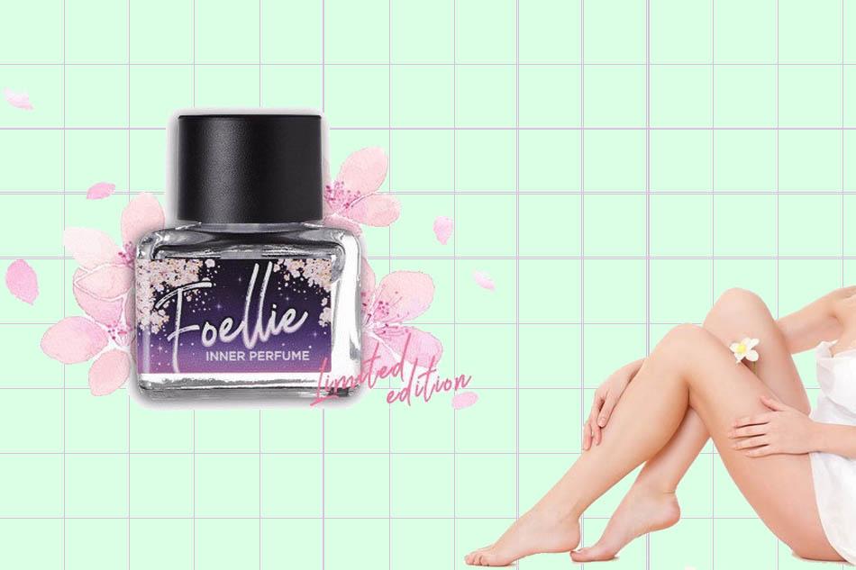 Foellie Eau de Cherry Blossom (màu tím bản giới hạn): mùi thơm của hoa anh đào