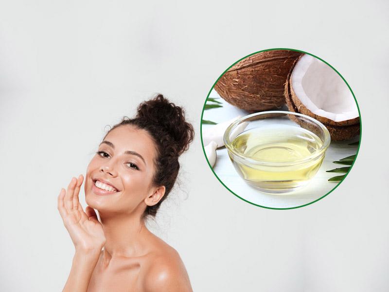 Sử dụng dầu dừa làm kem dưỡng da